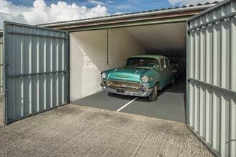 First Class Storage classic car